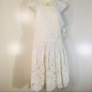 Altar'd State  White lace small dress